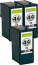 Alternativ Lexmark Patronen 3x 44 Set Refill