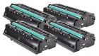 Set 4x Alternativ Ricoh Toner 407246 / SP 311HE Schwarz