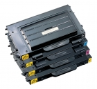 Alternativ Toner Sparset Samsung CLP-510D7K+510D5C+510D5M+510D5Y