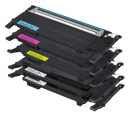 5x Alternativ Samsung Toner CLP 320 325 CLX 3185 Set