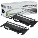 2x Alternativ Toner Samsung CLP 320 325 CLX 3185 Schwarz