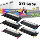 5x Alternativ Samsung Toner CLP 310 315 CLX 3170 3175 SET