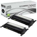 2x Alternativ Samsung Toner CLP 310 315 CLX 3170 3175 Schwarz