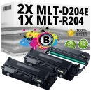 2x Alternativ Samsung Toner D204E + Trommel R204 Schwarz