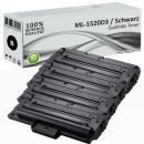 4x Alternativ Samsung Toner ML-1520D3 Schwarz