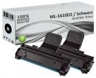 Alternativ Samsung Toner ML-1610D2 Schwarz Doppelpack