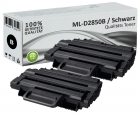 Alternativ Samsung Toner ML-D2850B Schwarz Doppelpack