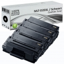 4x Alternativ Samsung Toner MLT-D203L Schwarz Set