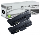 Set 2x Alternativ Samsung Toner MLT-D116L Schwarz
