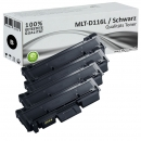 Set 4x Alternativ Samsung Toner MLT-D116L Schwarz