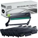 4x Alternativ Samsung Toner MLT-D116L + MLT-R116 Trommel