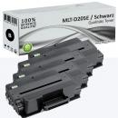 4x Alternativ Samsung Toner MLT-D205E Schwarz