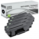 Set 4x Alternativ Samsung Toner MLT-D205L Schwarz