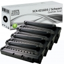 4x Alternativ Samsung Toner SCX-4216D3 Schwarz Set