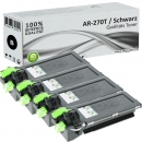 4x Alternativ Sharp Toner AR-270T  Schwarz