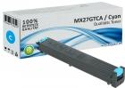Alternativ Sharp Toner MX-27GTCA Cyan