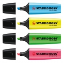 Stabilo Boss Textmarker Set - 4 Farben