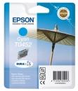 Original Epson Patronen T0452 Cyan