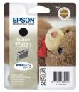 Original Epson Patronen T0611 Schwarz