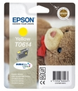 Original Epson Patronen T0614 Gelb