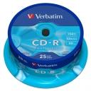 Verbatim CD-R 700 MB CD-Rohlinge 25er Spindel