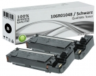 2x Alternativ Xerox Toner 106R01048 Schwarz