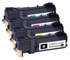 4er Set Alternativ Xerox Toner 6125