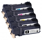 5er Set Alternativ Xerox Toner 6125