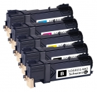 5er Set Alternativ Xerox Toner 6140