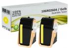 Alternativ Xerox Toner 106R02604 Set 2x Gelb