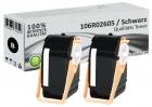 Alternativ Xerox Toner 106R02605 Set 2x Schwarz