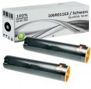 2x Alternativ Xerox Toner 106R01163 Schwarz