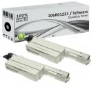 2x Alternativ Xerox Toner 106R01221 Schwarz