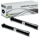 2x Alternativ Xerox Toner 106R01439 Schwarz