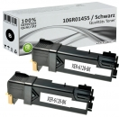 2x Alternativ Xerox Toner 106R01455 Schwarz