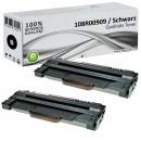 2x Alternativ Xerox Toner 108R00909 Set Schwarz