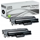 2x Alternativ Xerox Toner 109R00725 Set Schwarz