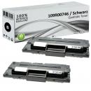 2x Alternativ Xerox Toner 109R00746 Set Schwarz