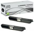 2x Alternativ Xerox Toner 113R00692 Schwarz