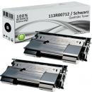 2x Alternativ Xerox Toner 113R00712 Schwarz