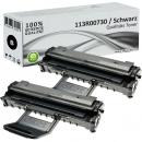 2x Alternativ Xerox Toner 113R00730 Schwarz