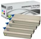 Set 4x Alternativ Xerox Toner 006R9030X Mehrfarbig