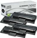 4x Alternativ Xerox Toner 013R00606 Set Schwarz