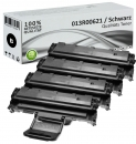 4x Alternativ Xerox Toner 013R00621 Set Schwarz