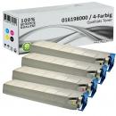 4x Alternativ Xerox Toner Mehrfarbig Set