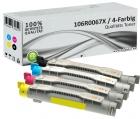 4x Alternativ Xerox Toner 106R0067X Mehrfarbig