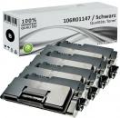 4x Alternativ Xerox Toner 106R01149 Schwarz
