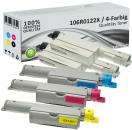 4x Alternativ Xerox Toner 106R0122X Mehrfarbig