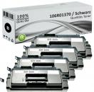 4x Alternativ Xerox Toner 106R01370 Schwarz