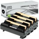 4x Alternativ Xerox Toner 106R01533 Schwarz